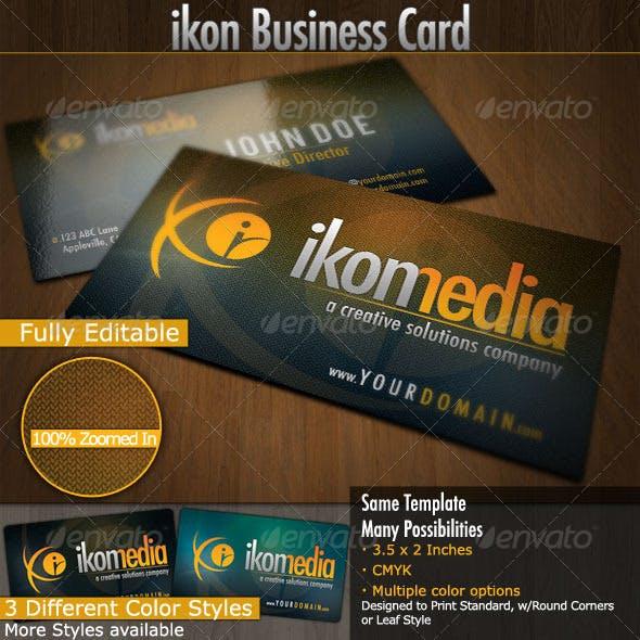 Ikon Media: Business Cards