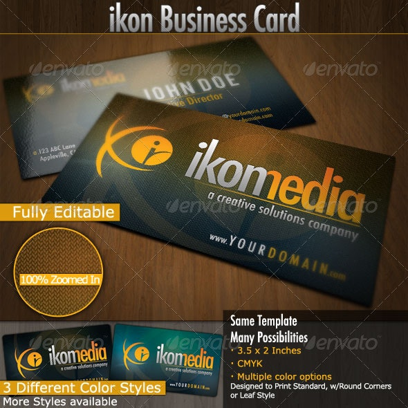 Ikon Media: Business Cards - Creative Business Cards