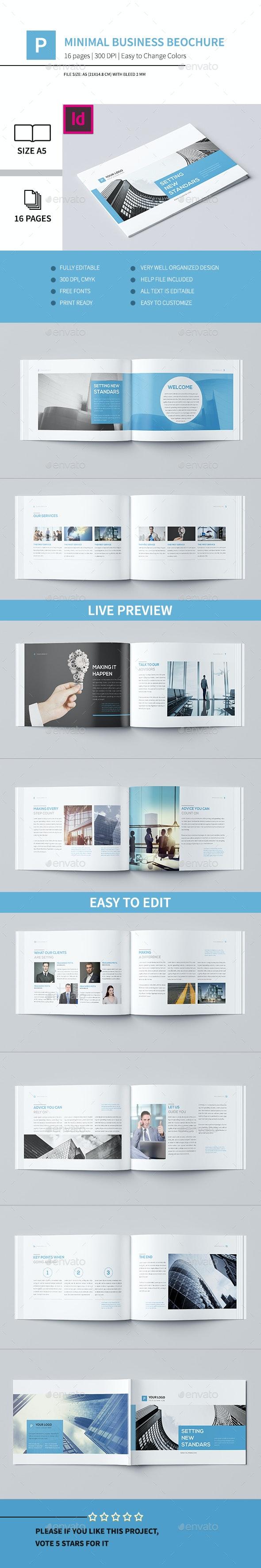 Minimal Business Brochure V - Corporate Brochures