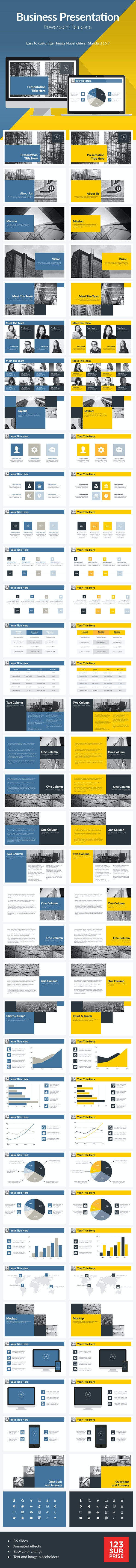 Corporate Business Powerpoint Template - Business PowerPoint Templates