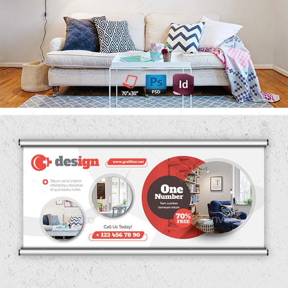 Interior Design Billboard Templates