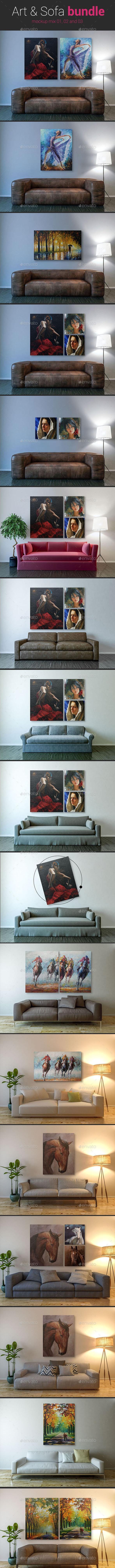 Art & Sofa Bundle - Posters Print