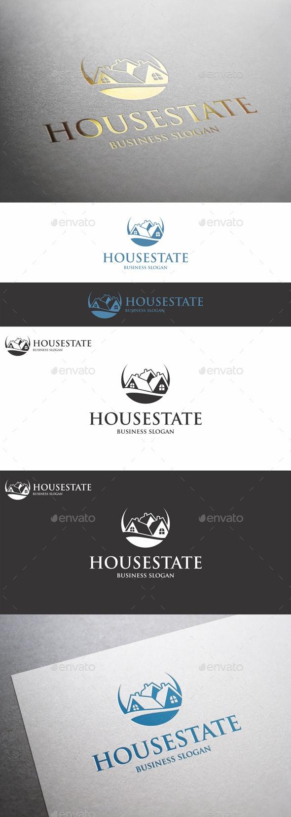 House Estate Logo - Buildings Logo Templates