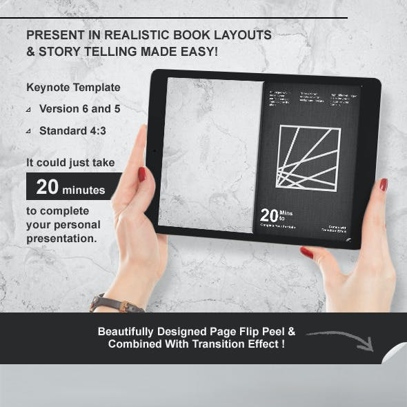 Book Keynote Presentation Template