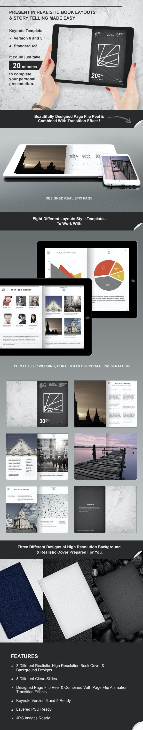 Book Keynote Presentation Template by 123surprise | GraphicRiver