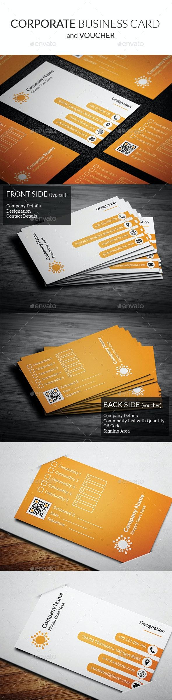 Corporate Business Card vol2 - Corporate Business Cards
