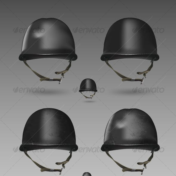 Military Helmet Set