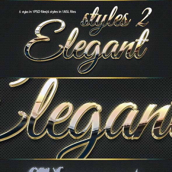 3D Elegant Styles 2