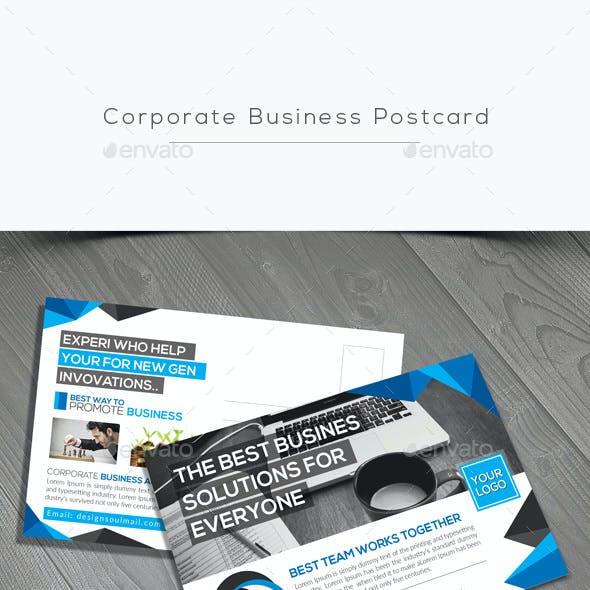 Corporate Business Postcard