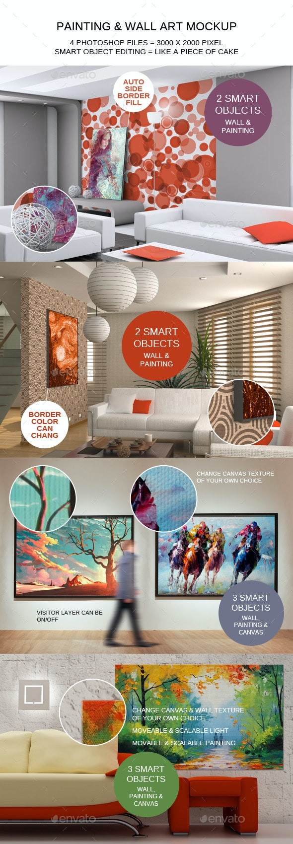 Painting & Wall Art Mockup - Miscellaneous Displays