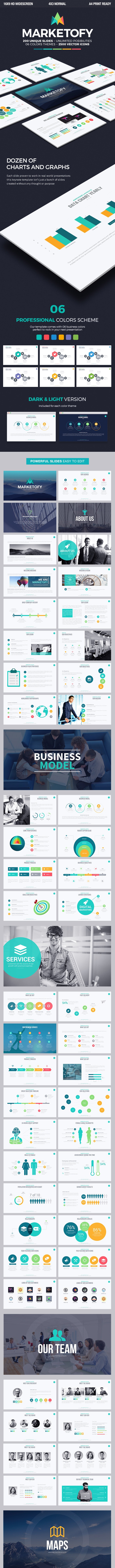 Marketofy - Ultimate Keynote Template - Business Keynote Templates