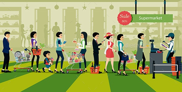 Purchase of Supermarket - Business Conceptual