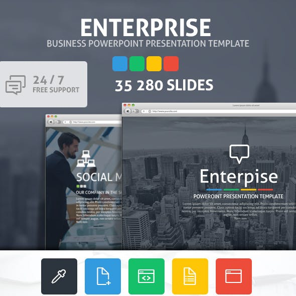 Enterprise Powerpoint Presentation Template