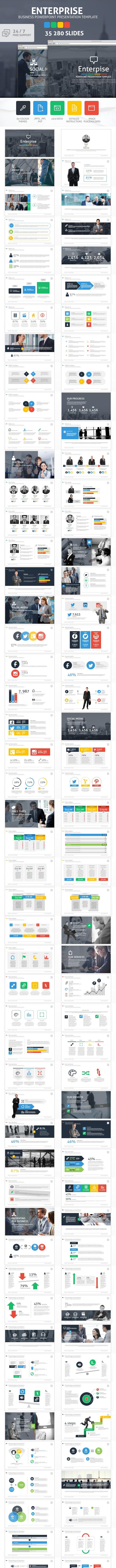 Enterprise Powerpoint Presentation Template - Business PowerPoint Templates