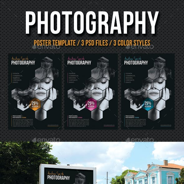 Photography Poster Template V04