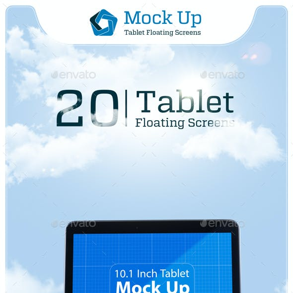 Tablet Floating Screens