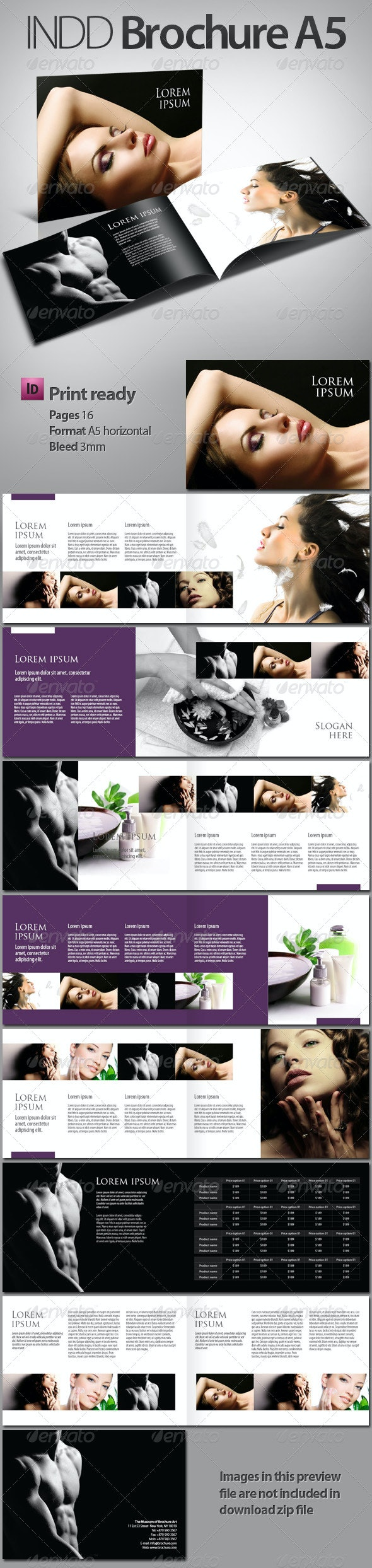 INDD Brochure - booklet A5 - Corporate Brochures