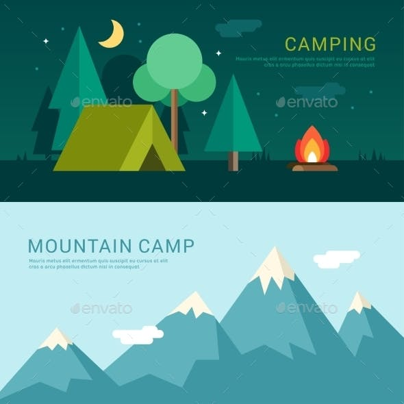 Camping And Mountain Camp