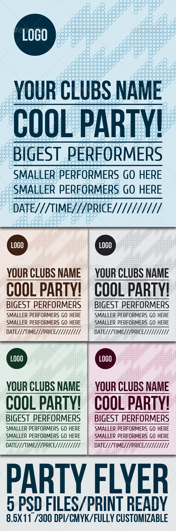Party Flyer VOL.2 - Clubs & Parties Events