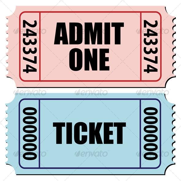 Tickets - Sports/Activity Conceptual