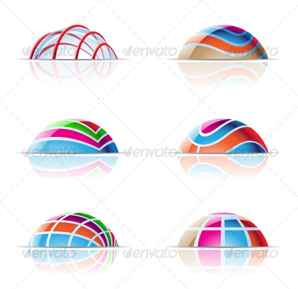 Dome Icons - Abstract Icons