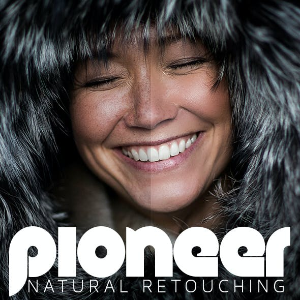 Pioneer - Natural Retouching Actions