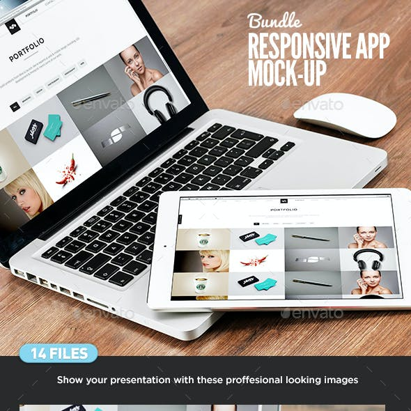 Responsive Screens Device Mock-Up Vol 02