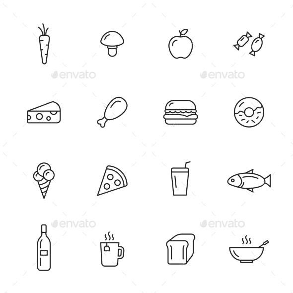Food Icons By Filborg