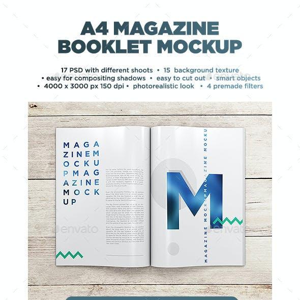 A4 Magazine MockUp vol.1