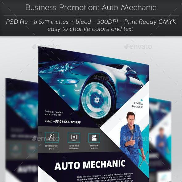Business Promotion: Auto Mechanic