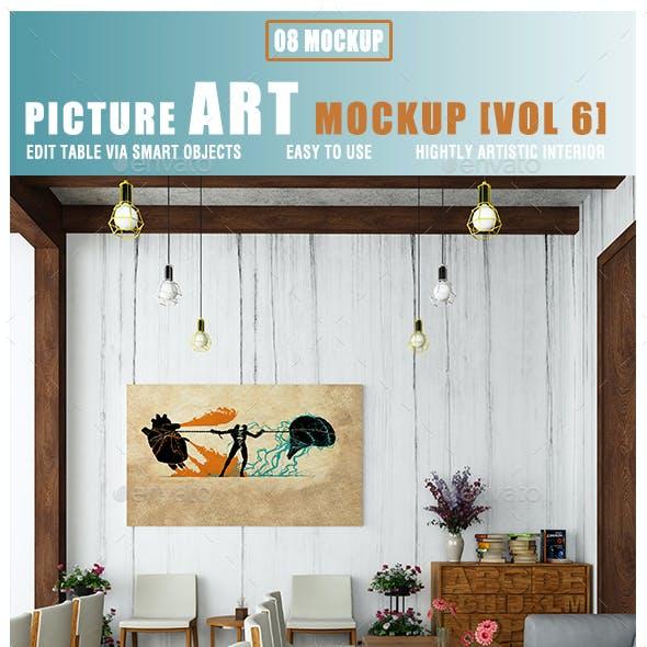 Picture Art Mockup [Vol 6]