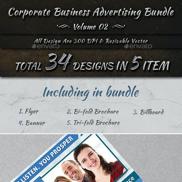 Corporate Business Advertising Bundle   Volume 2