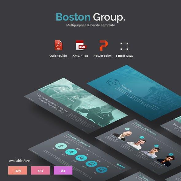 Boston - Creative Powerpoint Template