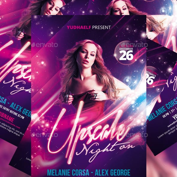 Upscale Party Flyer