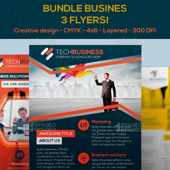 Bundle Business Tech Flyers