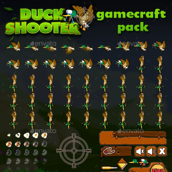 Duck Shooter Game Assets