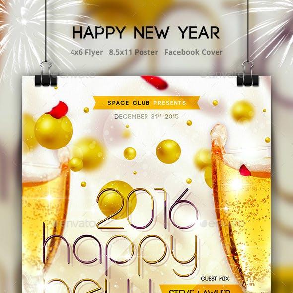 Happy New Year Templates