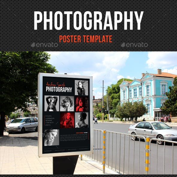 Photography Poster Template V06