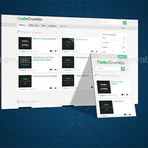 Perspective App / Website Mockup