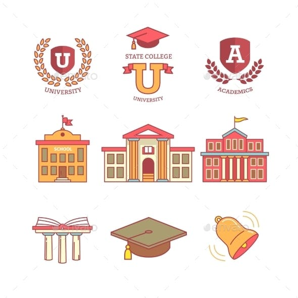 Education, School, Academy, College And University