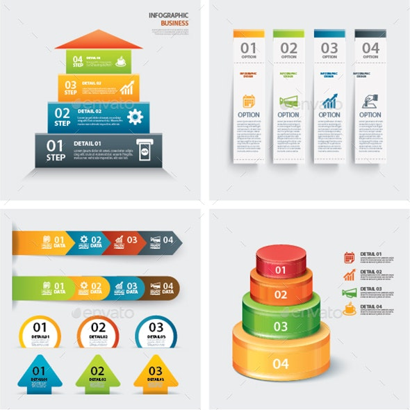 Set of Infographic Templates