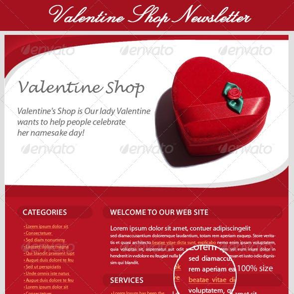 Valentines Day E-Newsletter