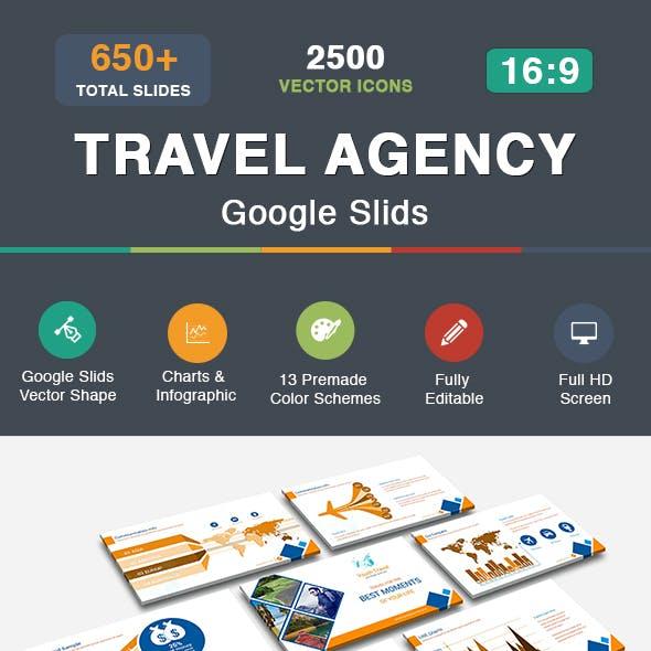Travel Agency Google Slids Templates