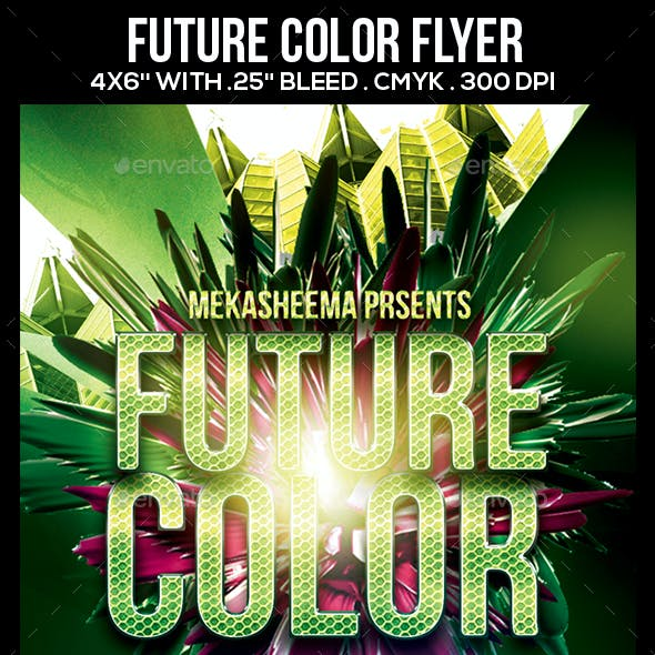 Future Color Flyer
