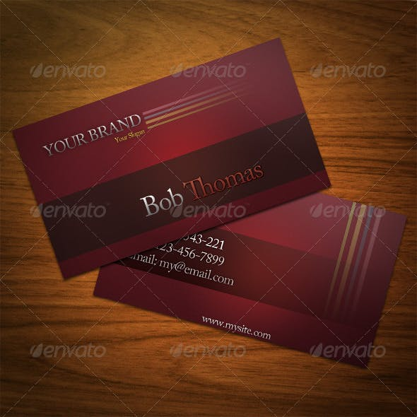 4 Color Business Card