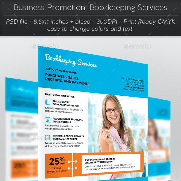 Business Promotion: Bookkeeping Services