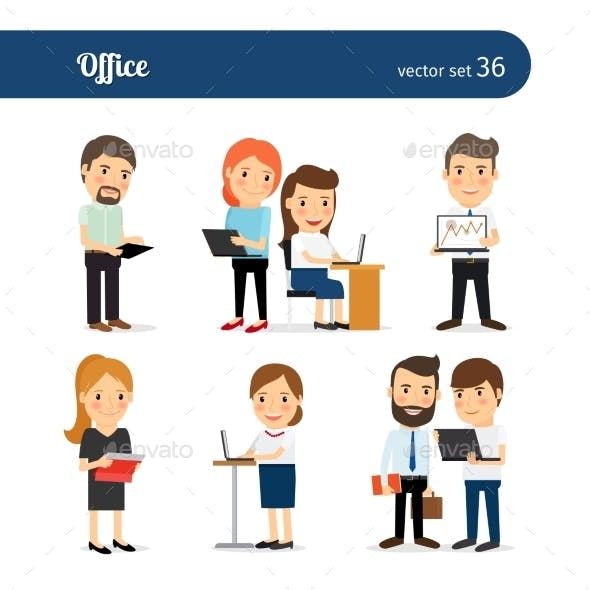 Office People Set