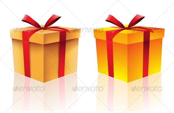 gift boxes - Christmas Seasons/Holidays