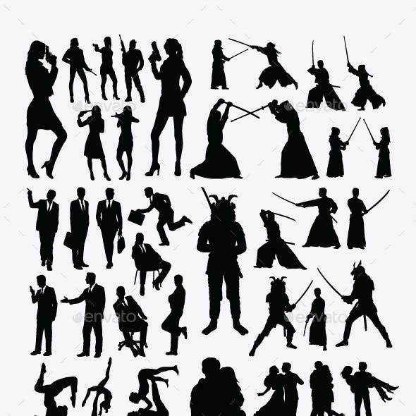 Useful People Silhouettes