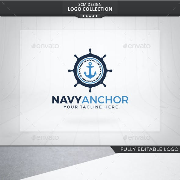 Navy Anchor Logo